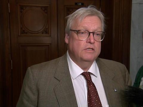 Gaétan Barrette, ministre de la Santé du Québec
