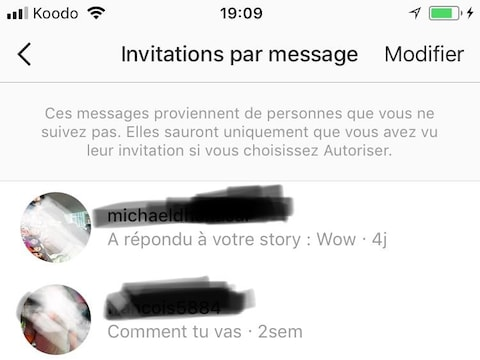 Des inconnus tentent d'hameçonner de jeunes femmes sur Instagram.