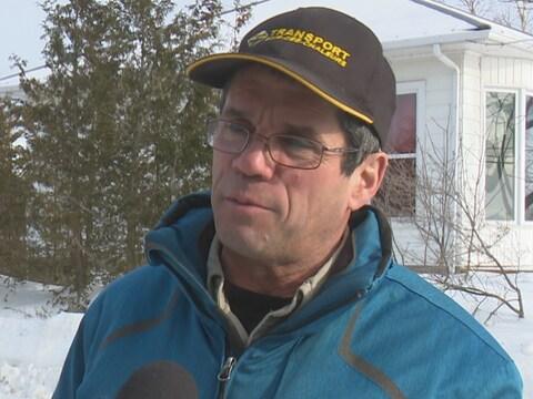Rodrigue Bernier, président de l'Association des clubs de motoneigistes de la Gaspésie