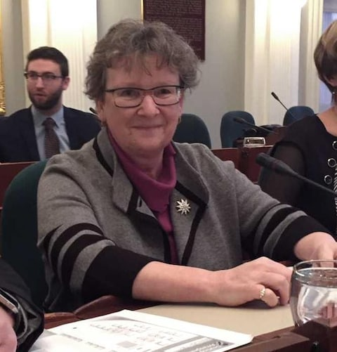 La sous-ministre de l'Environnement de la Nouvelle-Écosse, Frances Martin.