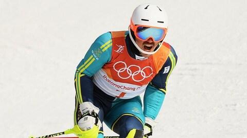 Andre Myhrer slalom