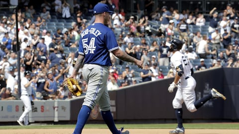 Le lanceur des Blue Jays Sean Reid-Foley