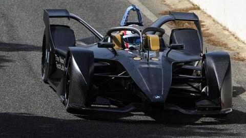 Bruno Spengler au volant de la formule E BMW iFE.18