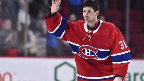 Carey Price honoré pour son record dans l'uniforme du CH