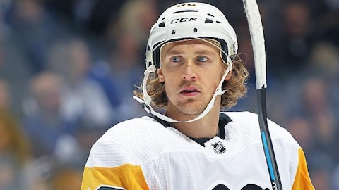 Carl Hagelin des Penguins de Pittsburgh