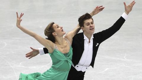 Carolane Soucisse et Shane Firus