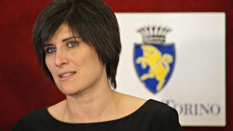 La mairesse de la ville de Turin Chiara Appendino