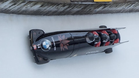 Chris Spring et son équipe à St-Moritz