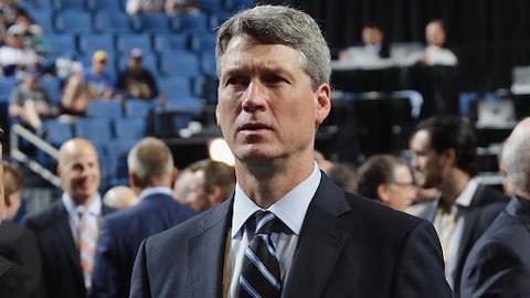 Chuck Fletcher lors du repêchage de 2016