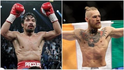 Manny Pacquiao et Conor McGregor
