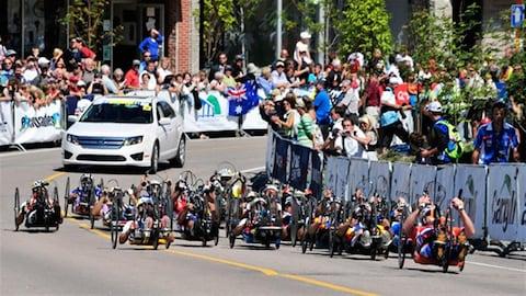 Finale de la Coupe du monde de paracyclisme à Baie-Comeau en 2012 (Archives)