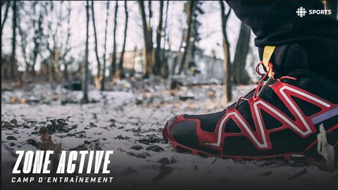 Un soulier dans la neige