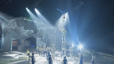 Le spectacle Crystal du Cirque du Soleil