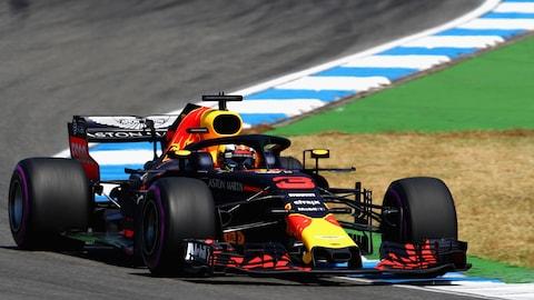 Daniel Ricciardo à Hockenheim