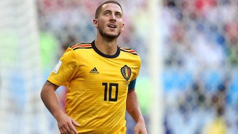 Eden Hazard après la victoire de 2-0 de la Belgique contre l'Angleterre