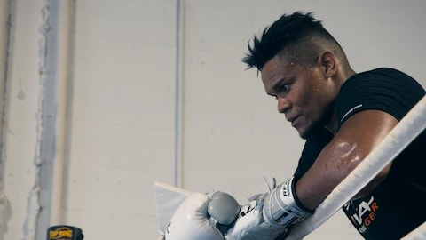 Le boxeur Eleider Alvarez