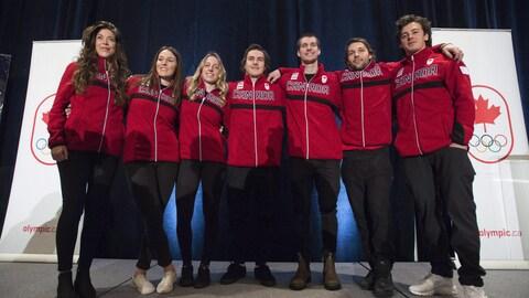 Nomination de l'équipe canadienne de slopestyle et big air en snowboard pour PyeongChang 2018
