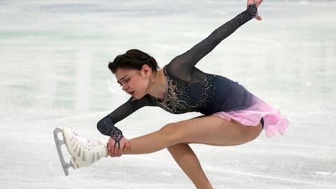 Evgenia Medvedeva aux derniers Championnats du monde