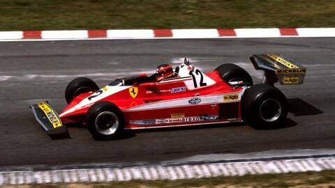 La Ferrari 312 T3 de Gilles Villeneuve