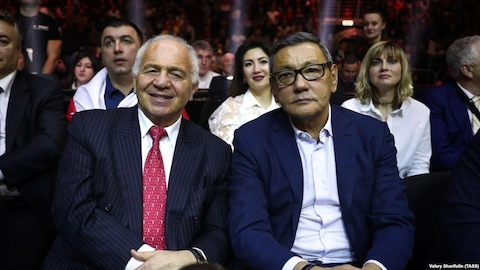 Franco Falcinelli et Gafur Rakhimov