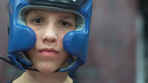 Jacob Blais, 13 ans, boxeur