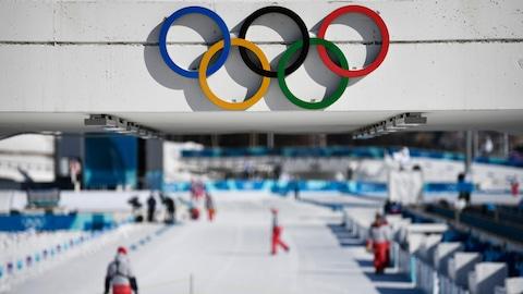 Les installations olympiques de biathlon à Pyeongchang