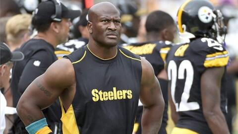 James Harrison sur la touche à sa dernière saison avec les Steelers
