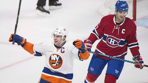John Tavares (no 91) et Max Pacioretty (no 67)