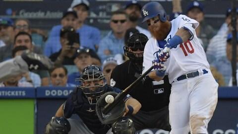 Les Dodgers mènent la série de championnat de l'Américaine 3-2 contre les Brewers