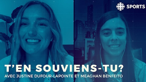 Meaghan Benfeito et Justine Dufour-Lapointe