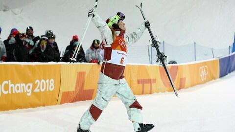 Justine Dufour-Lapointe médaillée d'argent