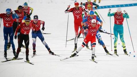 Len Valjas sprint par équipe style libre