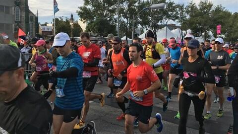 Le marathon de Rimouski en 2016
