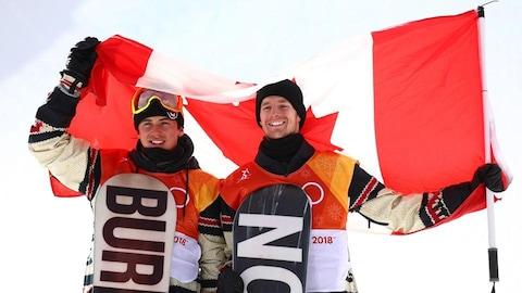 Mark McMorris et Maxence Parrot slopestyle