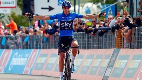 Mikel Landa, victorieux à la 19e étape du Giro