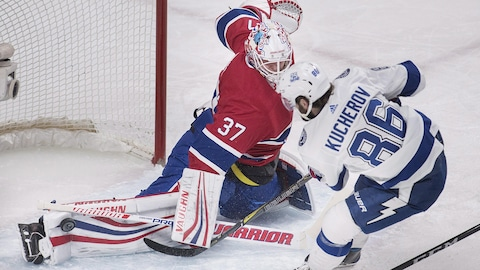 Lightning 4 - Canadien 3 : faits saillants