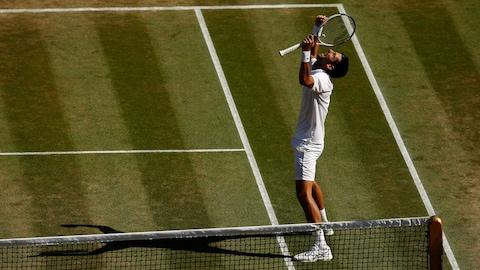 Novak Djokovic est sacré champion à Wimbledon