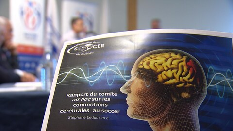 Le rapport du comité ad hoc sur les commotions cérébrales.