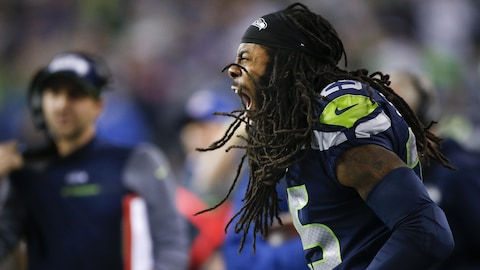 Le demi de coin Richard Sherman
