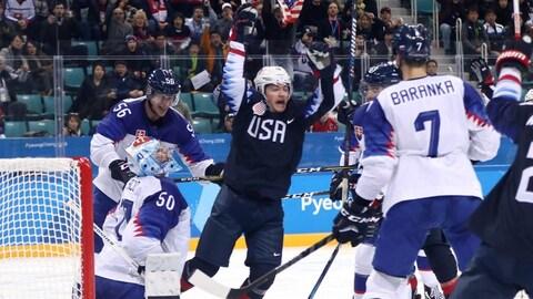 Ryan Donato États-Unis Slovaquie hockey