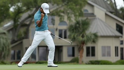 Satoshi Kodaira a remporté son premier tournoi sur le circuit de la PGA.