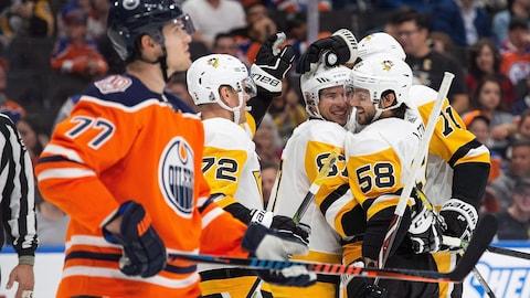 Sidney Crosby (87) a inscrit deux buts dont celui de la victoire en prolongation
