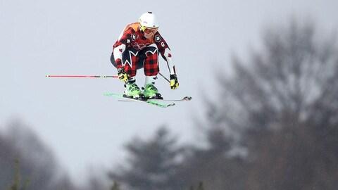 La skieuse Marielle Thompson aux Jeux de Pyeongchyang