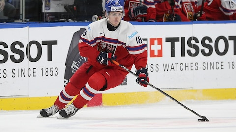 Filip Zadina au Championnat du monde junior