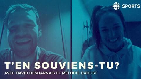 David Desharnais avec Mélodie Daoust