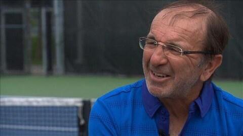 Louis Borfiga, vice-président développement de l'élite à Tennis Canada