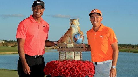 Tiger Woods et Rickie Fowler