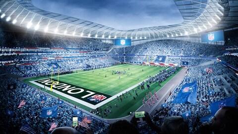 Le nouveau stade du club Tottenham