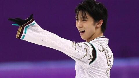 Yuzuru Hanyu triomphe à Pyeongchang