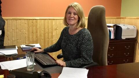 La directrice générale de l'Association forestière de l'Abitibi-Témiscamingue (AFAT), Isabelle Boulianne